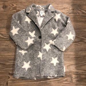 Baby Gap Star Jaquard Car coat sz 4~$59